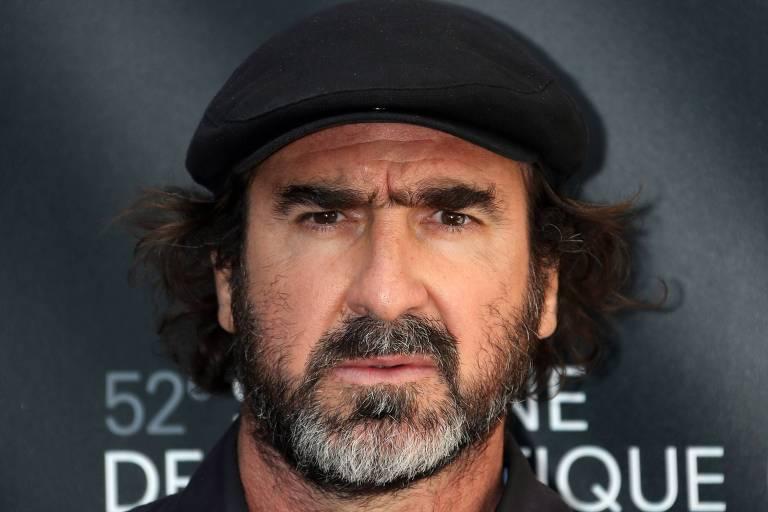 Eric Cantona durante o Festival de Cannes, na França