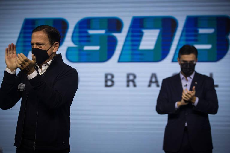 Doria quer pressa em prévia nacional, mas, com indefinição de Alckmin, empurra a estadual