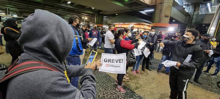 Greve no Metrô pega paulistanos de surpresa