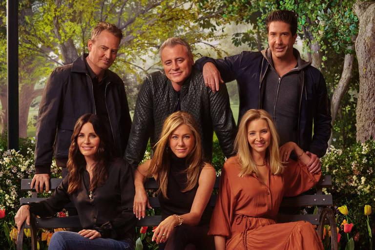 Pôster do especial 'Friends - The Reunion', da HBO Max
