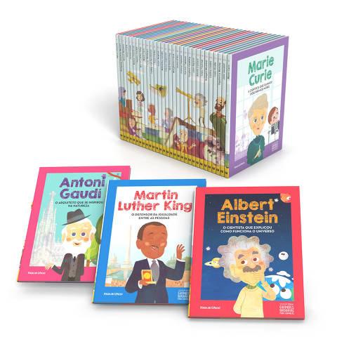 Coleção grandes biografias para crianças