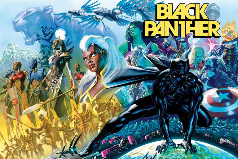 Nova HQ do Pantera Negra terá roteirista de '12 Anos de Escravidão'