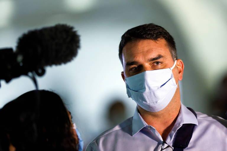 MP-RJ analisa novo relatório do Coaf envolvendo Flávio Bolsonaro