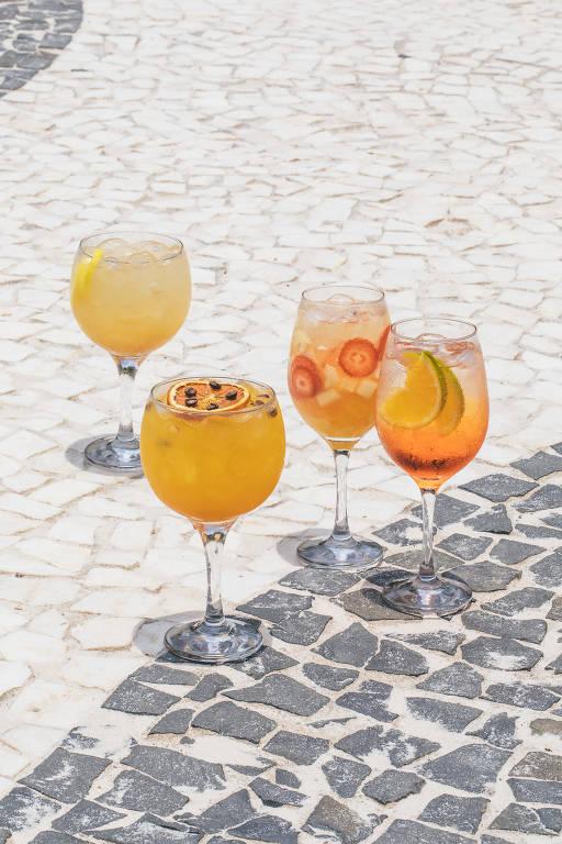 O que bebem os 'beach tenners'?