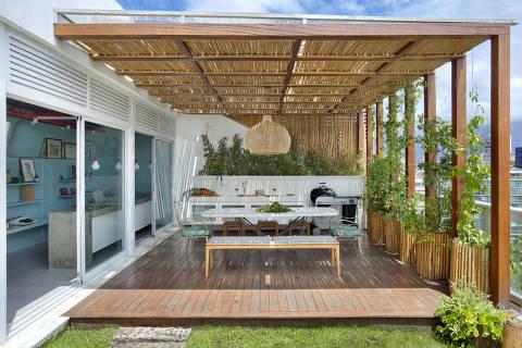 Projeto da Pílula Antropofágik Arquitetura para casal de advogados em Ipanema, Rio de Janeiro