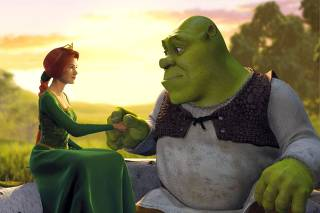 PUBLICITY PHOTO FROM THE COMPUTER ANIMATED FILM SHREK