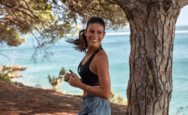 A atriz portuguesa Carolina Loureiro