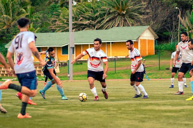 Futebol na Ilha de Páscoa