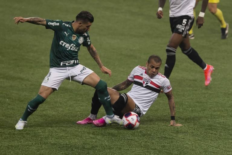 Clássico brigado entre Palmeiras e São Paulo deixa aberta disputa por título paulista