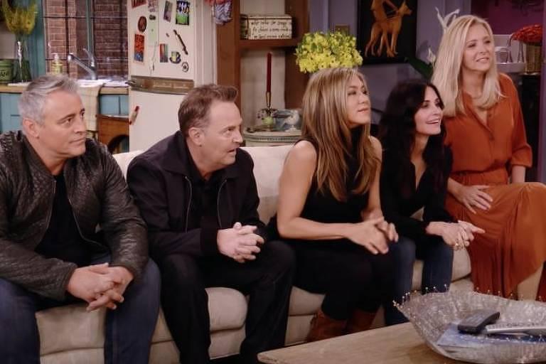 """Elenco da série """"Friends"""""""