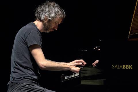 7-10-2016  -  James Edward Rhodes,  escritor e pianista britânico-Espanhol. (Foto Sala BBK    )