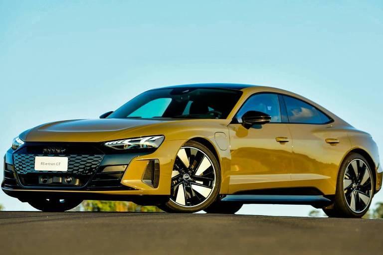 Carro mais potente da história da Audi chega ao Brasil e é elétrico