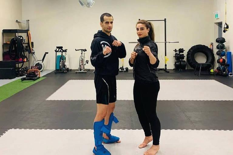Hamoon Derafshipour vai competir ao lado de sua companheira de vida e treinadora, Samira Malekipour