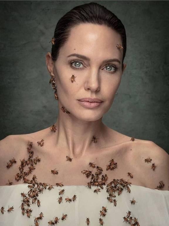 Angelina Jolie para National Geographic