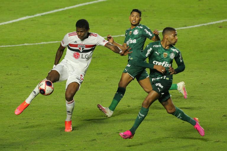 Em prévia de mata-mata, São Paulo e Palmeiras se reencontram no Brasileiro