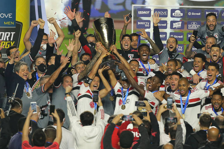 São Paulo vence Palmeiras e conquista Campeonato Paulista