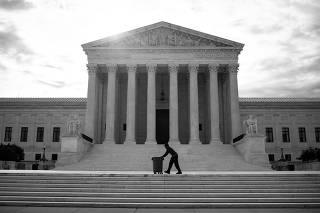 General view of U.S. Supreme Court in Washington