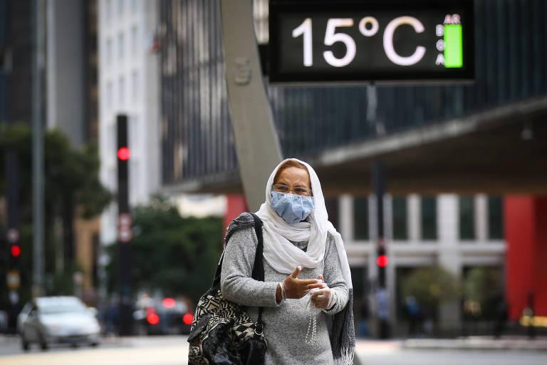 São Paulo tem madrugada mais fria do ano nesta segunda (24)