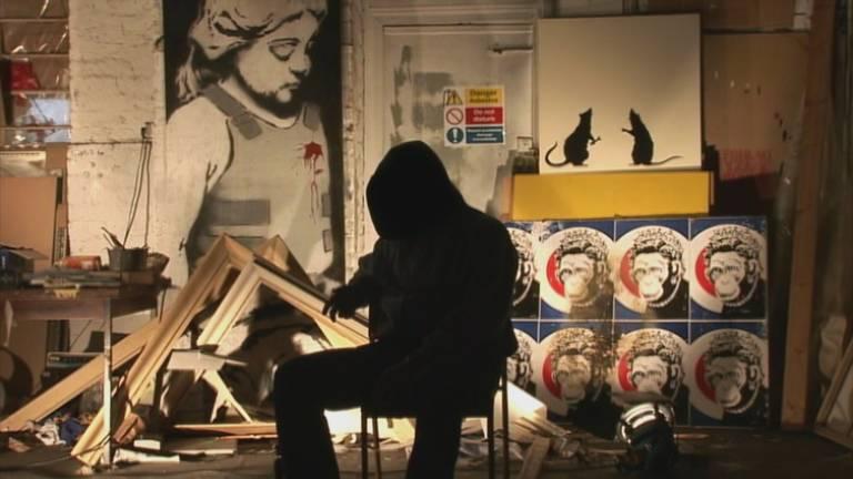Banksy, o artista de rua mais famoso do planeta que ninguém sabe quem é