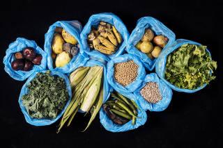 Producao Caderno Agro. Desperdicio de alimentos. Frutas, hortalicas, graos e legumes. Producao Aline Prado