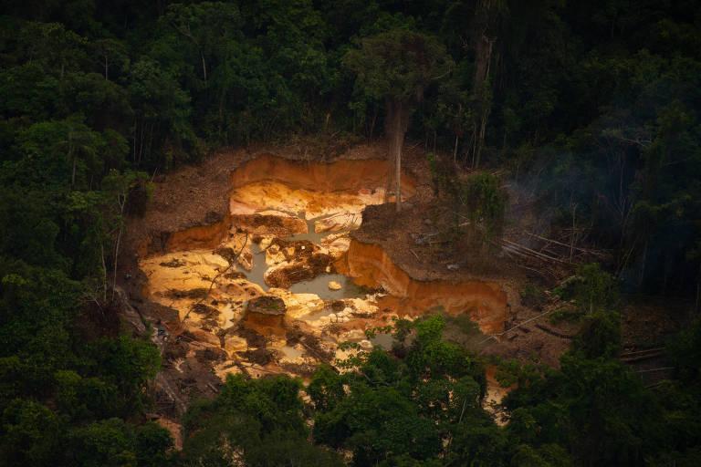 Garimpo ilegal cresce na Terra Indígena Yanomami