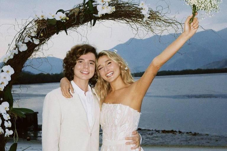 João Figueiredo diz que casamento com Sasha é escolha racional: 'Certeza do amor'