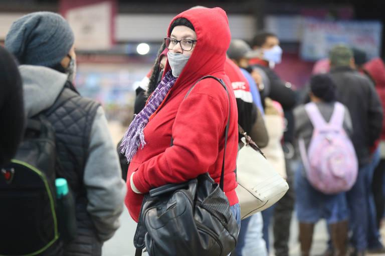 Madrugada mais fria do ano em São Paulo