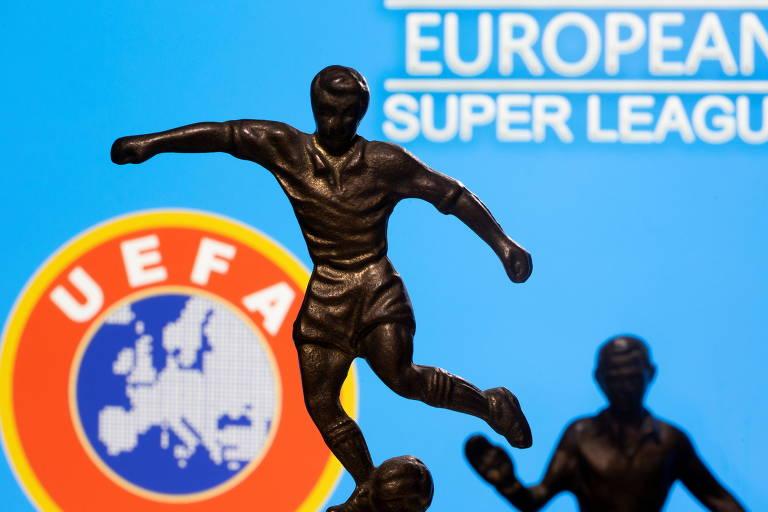 Uefa abre processo e pode punir Real Madrid, Barcelona e Juventus por Superliga