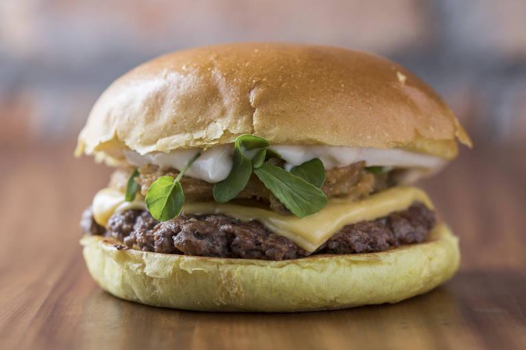 Oswaldinho, novo lanche do Cabana Burger