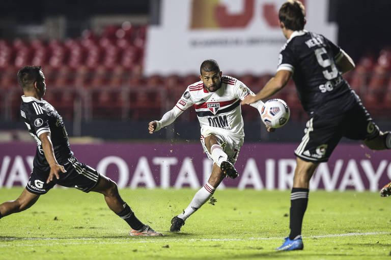 São Paulo reserva goleia Sporting Cristal no fim da fase de grupos da Libertadores