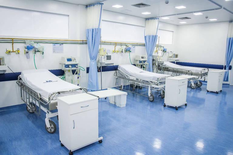 Finalização do hospital Metropolitano em Várzea Grande
