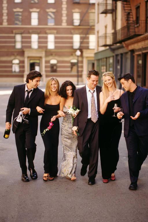 Imagens da série 'Friends'