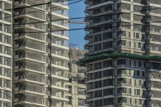 Novos prédios em São Paulo