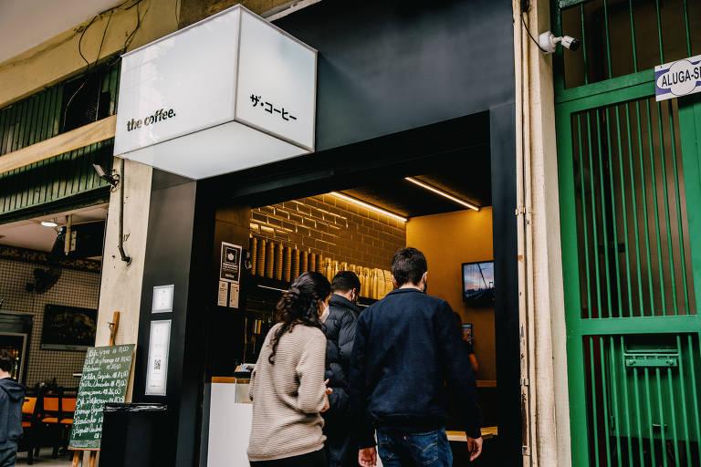 The Coffee, recém-inaugurado na rua Major Sertório