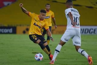 Copa Libertadores - Group C - Barcelona  v Santos