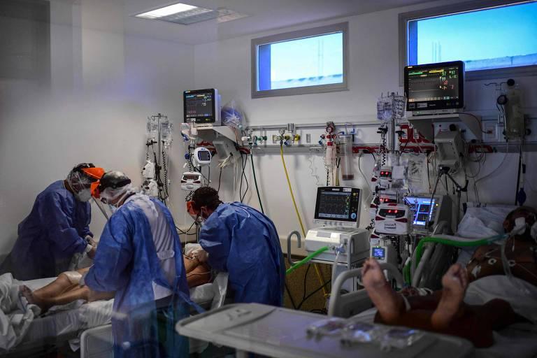 Casos de Covid disparam, e Argentina vê falta de atendimento a pacientes pela 1ª vez