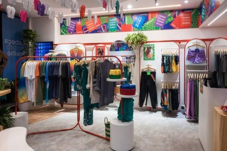 Nova loja da Havaianas no Shopping Morumbi