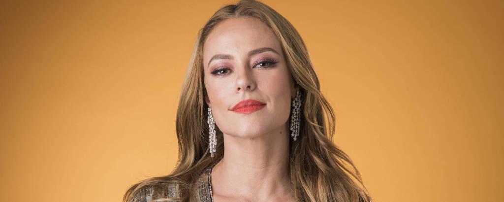 A atriz Paolla Oliveira
