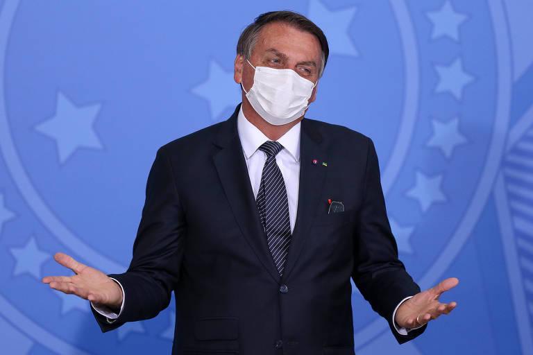 É só ir no banco e fazer empréstimo, diz Bolsonaro sobre auxílio emergencial