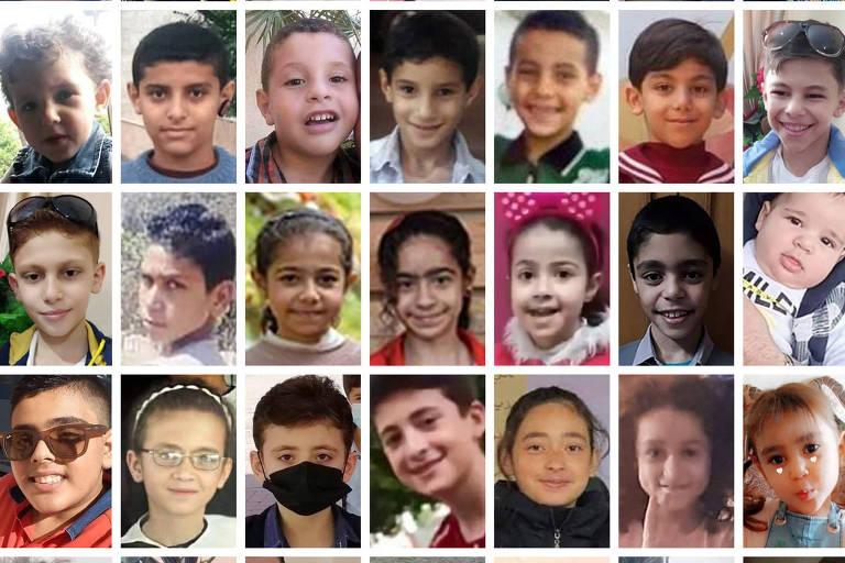 Quem são as crianças mortas durante o conflito entre Israel e Hamas