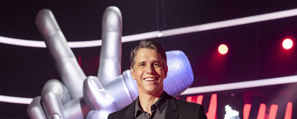 Apresentador Márcio Garcia