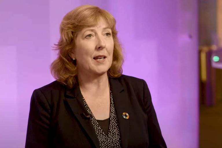 Fiona Reynolds, CEO da agência PRI
