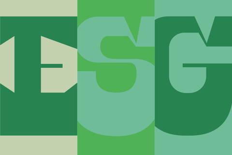 Ilustração para o caderno especial ESG: governança e sustentabilidade nas empresas Credito: Ilustração Deia Kulpas