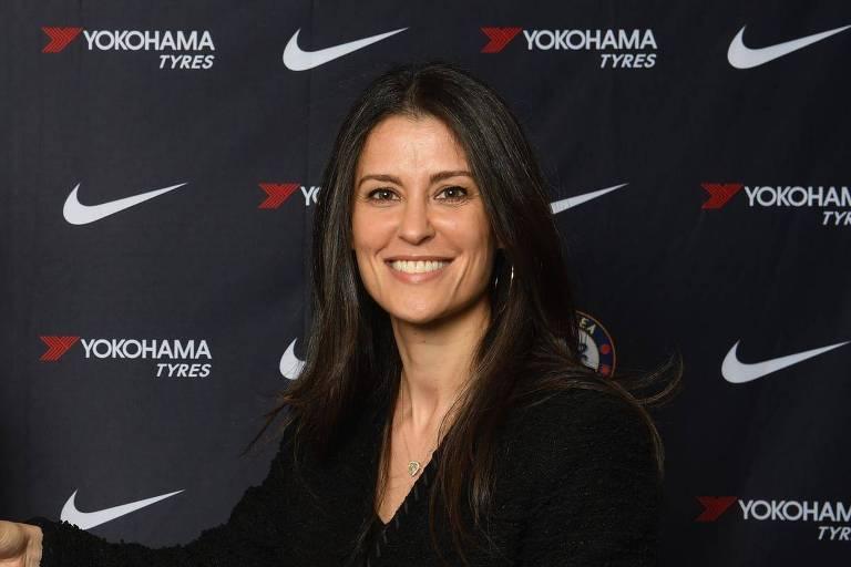 Marina Granovskaia, diretora do Chelsea e braço direito de Roman Abramovich
