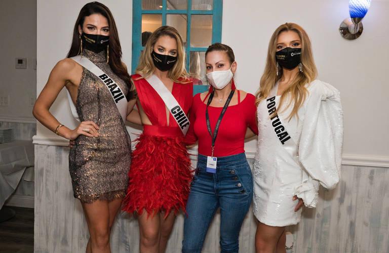 Vestido da Miss Brasil saiu de Paraisópolis para o universo