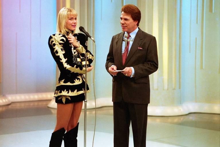 Silvio Santos e Xuxa no Show de Calouros