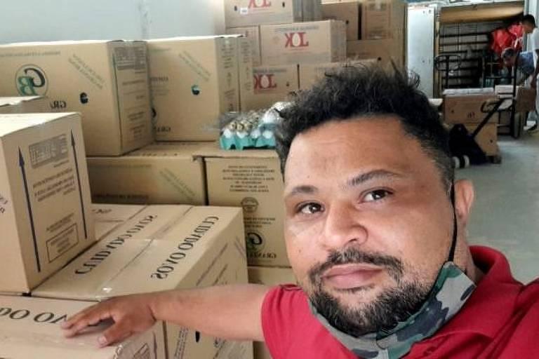 As vendas de ovos de Leonardo Cabral aumentaram, e ele conta que sua clientela mudou