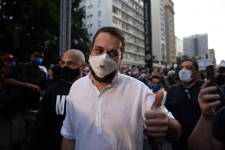 Contrários a Bolsonaro e a Doria, Boulos e Márcio França se reúnem em São Paulo
