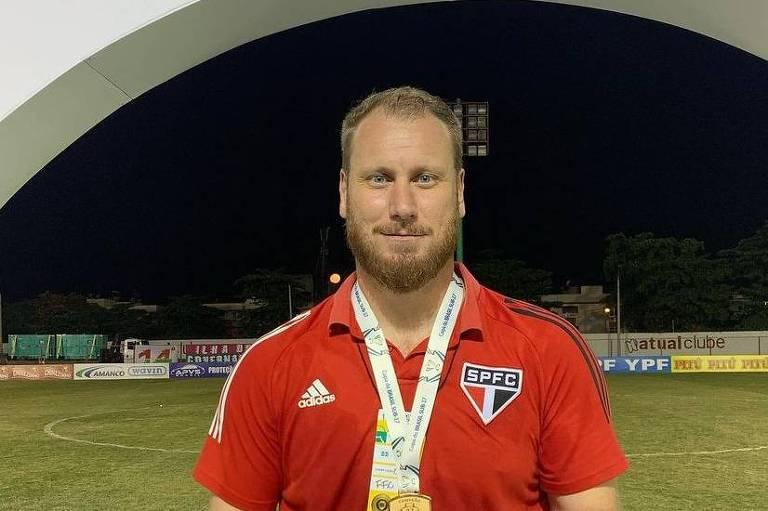 Pedro Smania, coordenador das categorias de base do São Paulo,