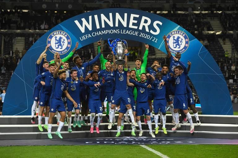 Final da Champions League - Manchester City x Chelsea